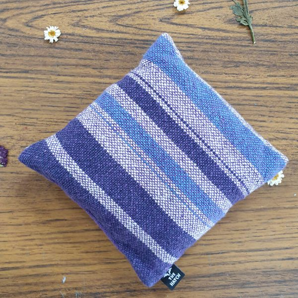 Heat pack blue and purple striped
